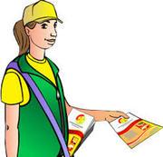 Распространители листовок и визиток
